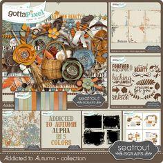 Addicted to Autumn Collection :: Gotta Grab It :: Gotta Pixel Digital Scrapbook Store by Seatrout Scraps