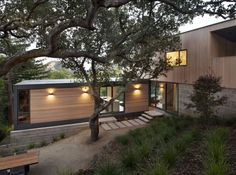 San Anselmo is a private residence located in San Anselmo, California, designed by Shands Studio via @HomeDSGN