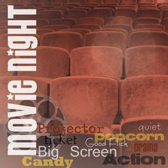 Paper+House+Productions+-+Movies+Collection+-+12+x+12+Paper+-+Movie+Night+at+Scrapbook.com