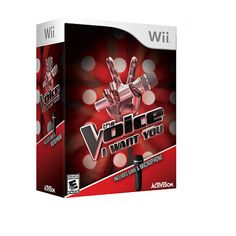 The Voice with Mic Bundle for Nintendo Wii