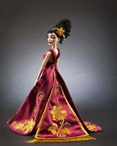 Mother Gothel Designer Doll....She will be mine!!