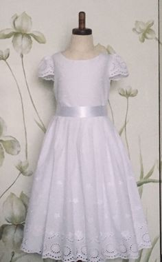 25bd2e106d9 Excited to share this item from my  etsy shop  First Communion Dress Flower  Girl