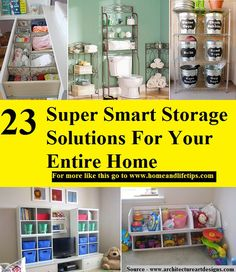 23 Super Smart Storage Solutions For Your Entire Home Organization Hacks, Organizing Tips, Storage Solutions, Storage Ideas, Life Hacks, Life Tips, Smart Storage, Improve Yourself, Cleaning