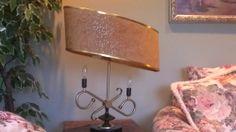 Mid Century Modern Atomic Vintage Majestic Lamp