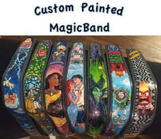 Custom Hand Painted Magic Band