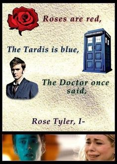 Rose Tyler, I love you... I so wish he had said that.
