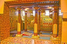 Museum Plans to Restore Ancient Egyptian Throne Room Ancient Egyptian Architecture, Sacred Architecture, Egyptian Temple, Egyptian Symbols, Monuments, Statues, Memphis, Museum Plan, Ancient Near East