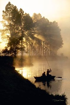 Early morning fishing