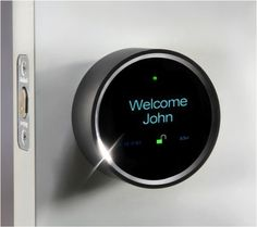 Goji Smart Lock - takes pictures of who is at your door and automatically sends you picture alerts to your mobile phone, providing you with real-time information about who is accessing your home.