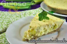 Sugestão de receita fácil e rápida para o #jantar a deliciosa Quiche de Alho Poró com Requeijão! #Receita aqui: http://www.gulosoesaudavel.com.br/2012/07/31/quiche-alho-poro-requeijao/