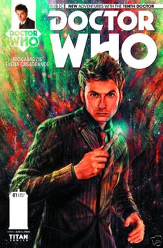 Doctor Who 10th Doctor #1 1st Print Titan Comics Alice Zhang Cover NM- in Collectibles, Comics, Modern Age (1992-Now), Superhero, Other Modern Age Superheroes | eBay