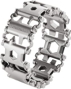 Leatherman has announced their Tread multi-tool bracelet and Tread QM1 multi-tool watch, the first of their kind.