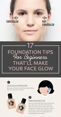 17 Foundation Tips Every Beginner Needs To Know – good GAHD. Where were these wh… 17 Foundation Tips Every Beginner Needs To Know – good GAHD. Where were these when I was a teenager? Foundation Tips, Makeup Tutorial Foundation, Face Foundation, Applying Foundation, Apply Foundation With Brush, Foundation Cosmetics, Flawless Foundation Application, Foundation Routine, Makeup Tricks