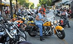 Motorcyclists from throughout the United States are to travel one of America's most scenic highways to raise money for charity during the 40th annual Phil Peterson's Key West Poker Run, happening now through Sunday, Sept. 16. #KeyWest #PokerRun #motorcycle # PhilPeterson #KeyWest PokerRun