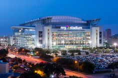Houston The Houston Texans play before 71,500 fans at NRG Stadium in their home city. The venue was completed in 2002 by Populous.