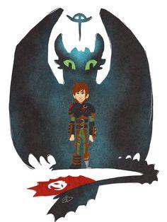 A Boy and His Dragon by Redundantthoughts.deviantart.com on @deviantART