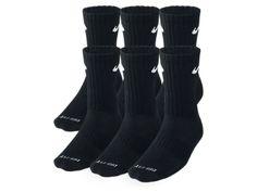 Nike Dri-FIT Cushion Crew Training Socks (Large/6 Pair)