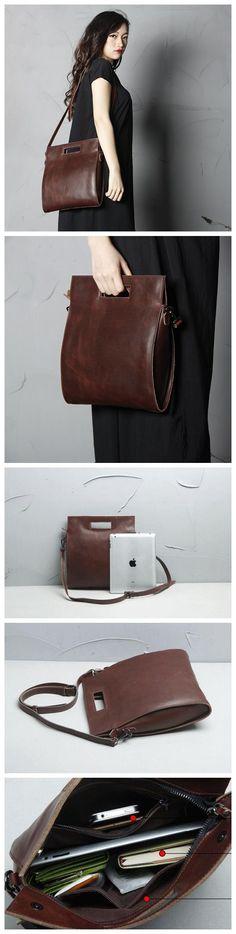 Handmade Full Grain Leather Women Satchel Shoulder Bag Handbag SCY09 - HANDMADE FULL GRAIN LEATHER WOMEN SATCHEL SHOULDER BAG HANDBAG WOMEN 'S FASHION BAG HANDMADE LADY'S BAG