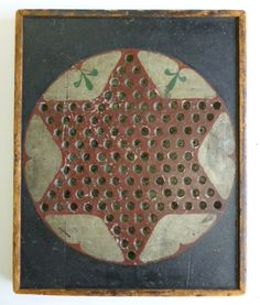 Chinese Checkers board.