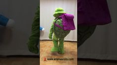 Adult size Turtle with backpack mascot costume Clever Gadgets, Geek Gadgets, Costumes For Sale, Mascot Costumes, Geeks, Turtle, Backpack, Geek Stuff, Fancy