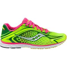 Women s Saucony Grid Type A5 - Green Pink Running Shoes featuring polyvore  fashion shoes flat d3edc0fa4491b