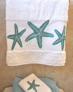 Starfish Towels by Anali