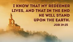 Free My REDEEMER LIVES! eCard - eMail Free Personalized Scripture Cards Online