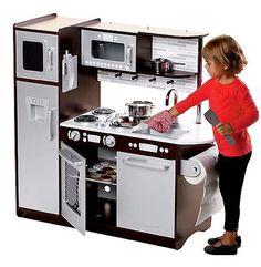 new kidkraft super chef kitchenpretend play toy wooden kitchen for