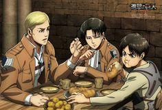 Erwin Levi Eren Poster for #season2 #ShingekinoKyojin