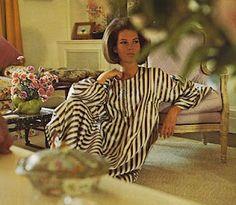 Louise Gravitt Grunwald - 1965 in her Billy Baldwin living room; Photo by Horst