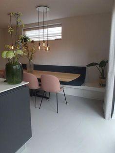 Gietvloer woonkeuken Berkel en Rodenrijs #kitcheninterior