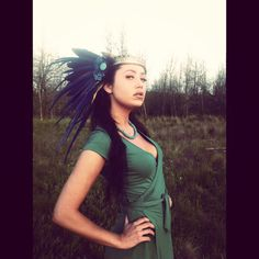 Alkaia Feather Headdress by RoosterBaby22 on Etsy, $285.00