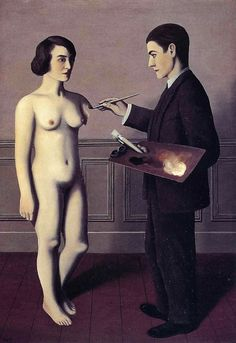 La Tentative de l'impossible [Attempting the Impossible], 1928 by René Magritte