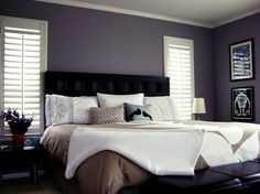 grey bedroom idea 1318856210 looks like a hint of purple in that paint - Gray Purple Bedroom
