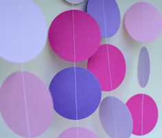 Paper Garland 5 Feet Long, Girl Birthday Decorations by Tero Designs LLC Nerf Party, Birthday Cheers, 5th Birthday Party Ideas, 13th Birthday Parties, Teen Birthday, Diy 1st Birthday Decorations, First Birthdays, Happenings, Celebrations