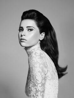 Felicity Jones by Micaela Rossato for InStyle 2013 | Photoshoot