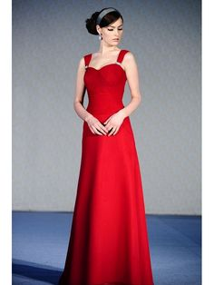 Grecian Satin Sweetheart Straps A-Line Bridesmaid Dress with a Delicate Rhinestone Buckle SB2201