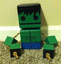 Wood Block Hulk