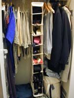 Cruise Packing Tips from Cruise Diva's Cruise Planner. Shoe shelf organizer and over the door organizer. Pack outfits in dry cleaning bags. Use compressible bags for underwear and pjs