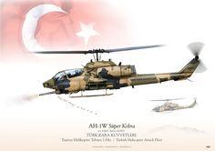 TURKISH LAND FORCES . TÜRK KARA KUVVETLERI Taarruz Helikopter Taburu 1.Filo / Turkish Helicopter Attack Fleet
