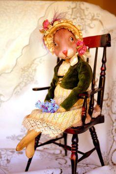 14 inch Artist Handmade Interior Toy OOAK Art by KatyaArtDolls, £200.00