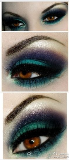 I wouldn't smoke out the lower lash line that thick but I love the colors and the idea of this look