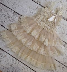 Hey, I found this really awesome Etsy listing at https://www.etsy.com/listing/184111885/ivory-cream-lace-dress-rustic-dress-baby