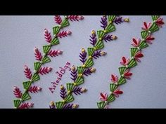 Hand Embroidery Decorative Stitches You Should Know - Kurti Blouse Hand Embroidery Tutorial, Hand Embroidery Stitches, Embroidery Techniques, Ribbon Embroidery, Hand Embroidery Patterns Flowers, Learning To Embroider, Crazy Quilt Stitches, Border Embroidery Designs, Feather Stitch