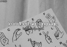 I'm not fluent but, I know enough to get my message across