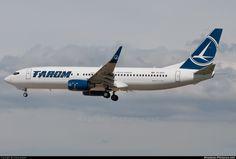 Tarom | YR-BGS - Tarom Boeing 737-800 at Barcelona - El Prat | Photo ID 111275 ...