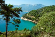 Thassos Island Greece. We stayed at Kekis Beach and had it all to ourselves everyday.