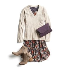 stitch fix monthly trends Love this whole outfit too! Look Fashion, Autumn Fashion, Fashion Outfits, Fashion Tips, Dress Fashion, Fashion Women, Fashion Trends, Stitch Fix Outfits, Simple Fall Outfits