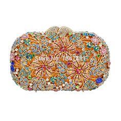 LaiSC Catharine Form blume kupplung taschen frauen luxus kristall abendtaschen damen hochzeit zubehör braut party geldbörse SC225 //Price: $US $107.00 & FREE Shipping //     #clknetwork