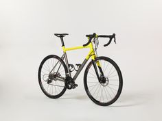 Design by supermorebetter.com / Titanium road/gravel/cx racer